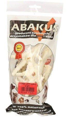 Abakus Kurze łapki białe 6 sztuk