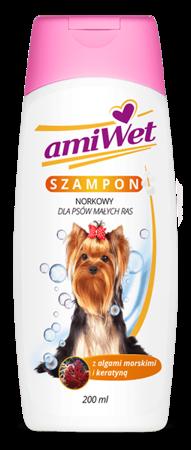 AmiWet Szampon norkowy dla Psów małych ras 200 ml