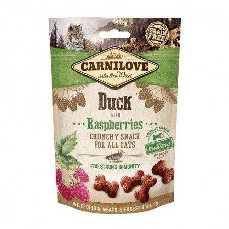 Carnilove Crunchy Snack Duck & Raspberries With Fresh Meat 50 g Kaczka i Maliny
