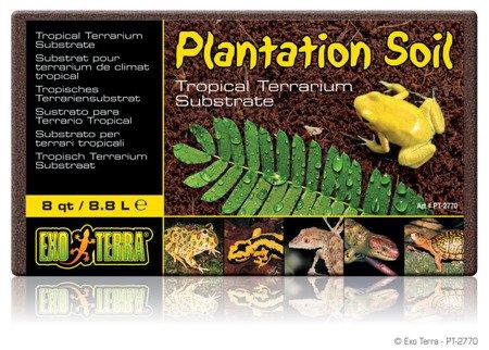 Exo Terra Plantation Soil-Brick - Włókno kokosowe 650 g