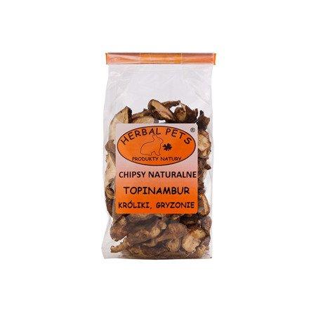 HERBAL Pets Chipsy naturalne Topinambur 75 g