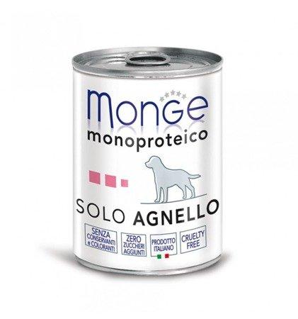 MONGE MONOPROTEIN JAGNIĘCINA 400G