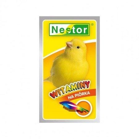 """Nestor witaminy """"na piórka"""" dla kanarków 20 g"""