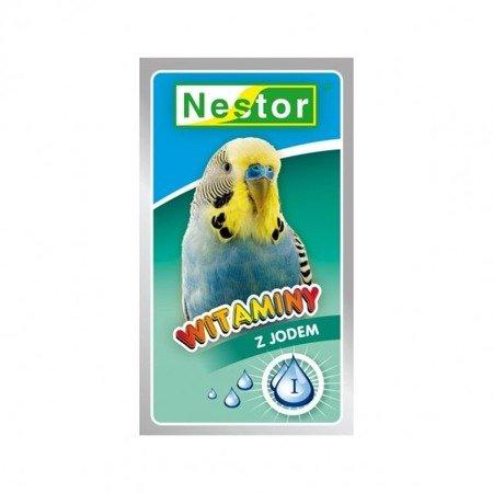Nestor witaminy z jodem dla papużek falistych 20 g