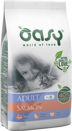 OASY DRY CAT Adult - Łosoś 1,5 kg