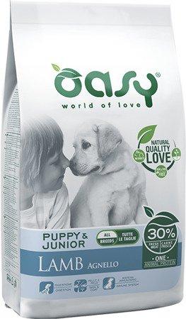 OASY ONE ANIMAL PROTEIN Puppy & Junior - Jagnięcina 2,5 kg