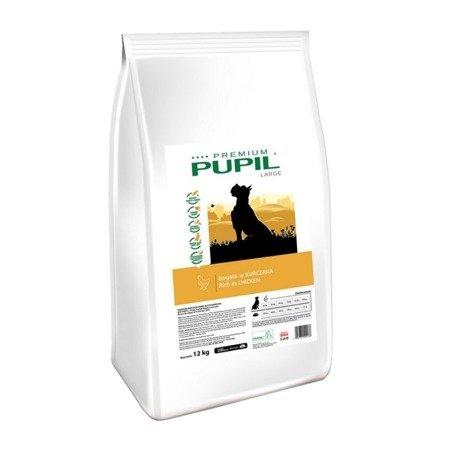PUPIL Premium LARGE bogata w kurczaka 12 kg