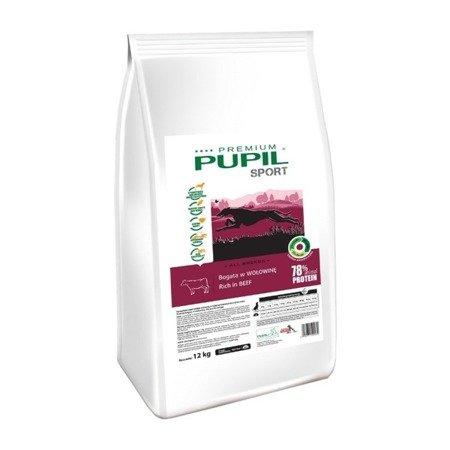 PUPIL Premium SPORT bogata w wołowinę 12 kg