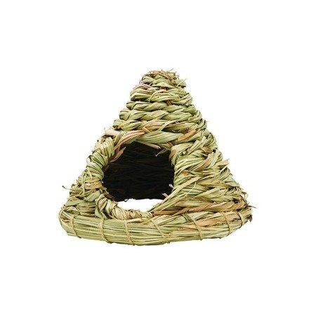 Panama Pet domek z trawy w kształcie stożka 19 x 19 x 16 cm