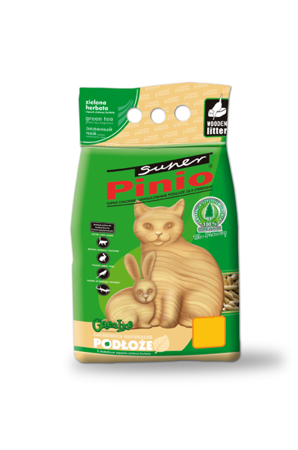 Super Pinio Pellet ZIELONA HERBATA 10 l