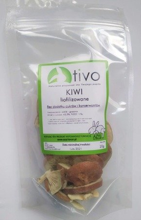 Tivo Kiwi liofilizowane 20 g