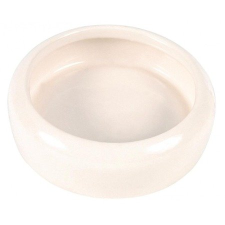 Trixie Miska ceramiczna dla małych zwierząt, pojemność 100 ml, średnica 9 cm