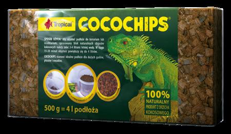 Tropical COCOCHIPS kokosowe podłoże terrarystyczne 500 g 4 l