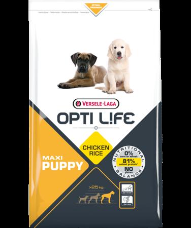 VERSELE-LAGA Opti Life Puppy Maxi 12,5 kg - karma dla szczeniąt ras dużych i olbrzymich ( drób )