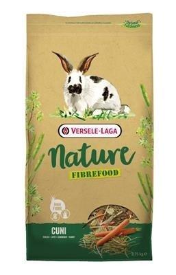 Versele Laga Cuni Nature Fibrefood 2,75kg - pokarm LIGHT/SENSITIVE dla królików miniaturowych
