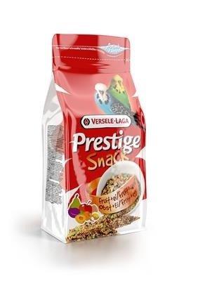 Versele Laga Prestige Snack Budgies 125g - przysmak z biszkoptami i owocami dla papużek falistych