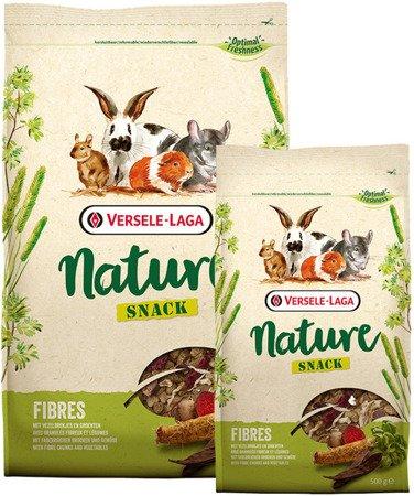 Versele Laga Snack NatureFibres 500g - zioła, warzywa, ekstra zawartość włókna dla gryzoni i królików