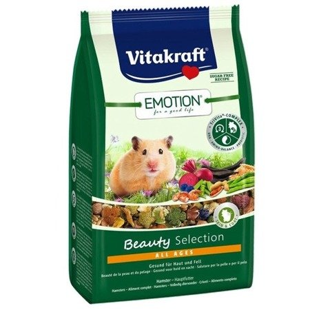 Vitakraft Emotion Beauty Selection dla chomika syryjskiego 600 g