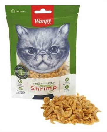 WANPY FREEZE-DRIED SHRIMPS 20g Liofilizowane krewetki dla kota